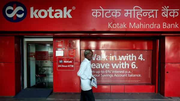 Total income rose to  ₹7,214.21 crore during the December quarter from  ₹6,049.02 crore in the year-ago period, Kotak Mahindra Bank said in a statement. Photo: Reuters