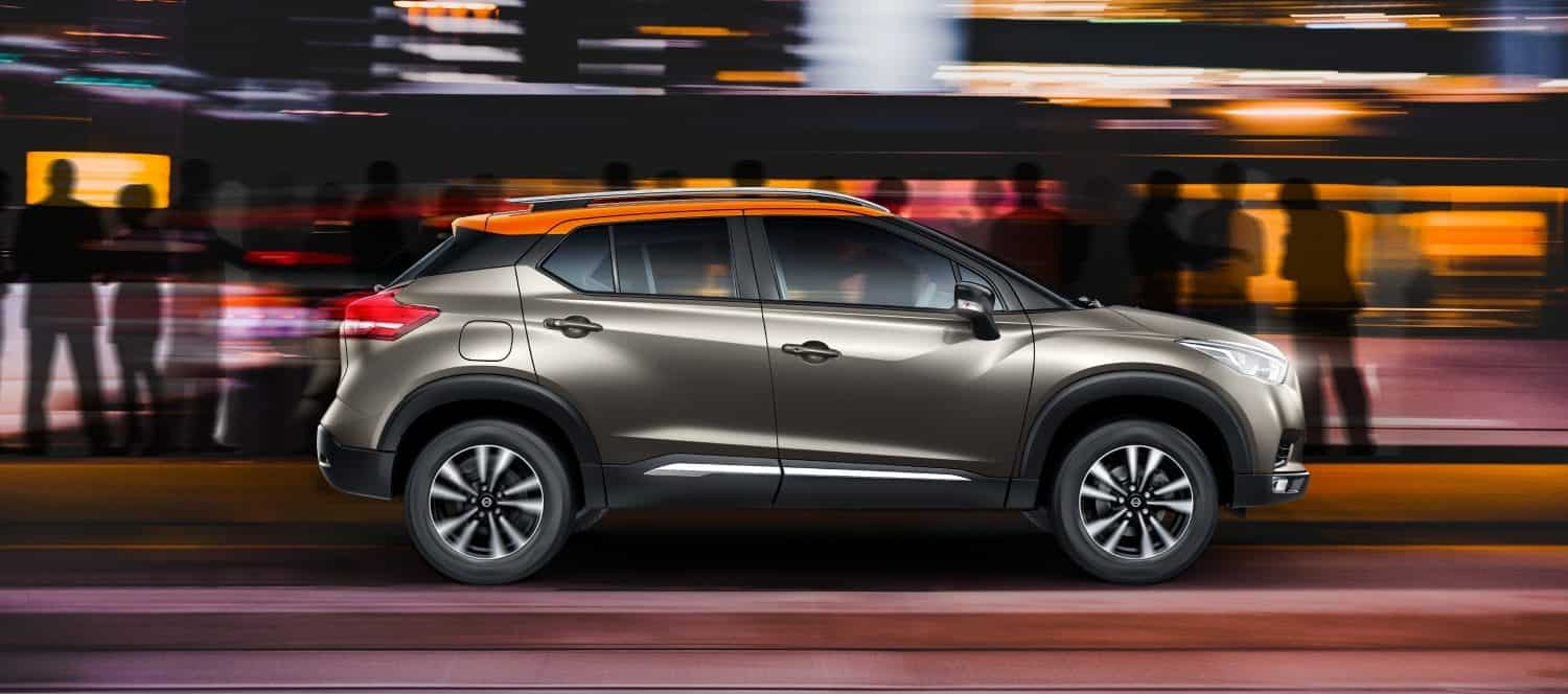 The Kicks comes in four variants —, XL, XV, XV Premium and XV Premium (Option). The 1.5L petrol engine is present only in the XL and XV variants which are priced at  <span class='webrupee'>₹</span>9,55,000 and  <span class='webrupee'>₹</span>10,95,000. The diesel specced Kicks is priced at  <span class='webrupee'>₹</span>10,85,000,  <span class='webrupee'>₹</span>12,49,000,  <span class='webrupee'>₹</span>13,65,000 and  <span class='webrupee'>₹</span>14,65,000 for the XL, XV, XV Premium and XV Premium (Option) variants respectively. (Nissan)