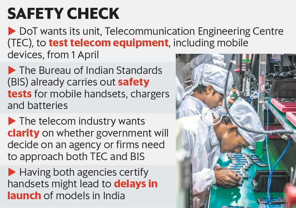 New telecom battle is over who will certify phones