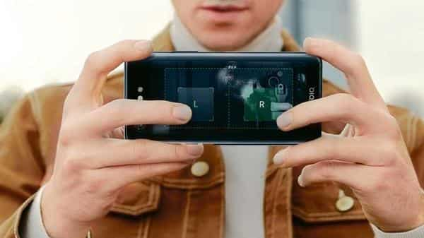 Smartphones like the YotaPhone and Meizu Pro 7 have attempted dual displays before.