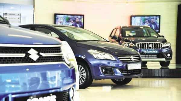 Maruti Suzuki shares fell more than 8% on Friday and hit a 52-week low (Mint )