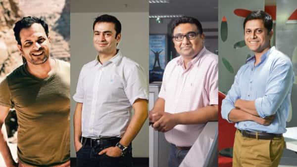 (L to R) Satyen Kothari, Ashish Kashyap, Kunal Shah and Mukesh Bansal