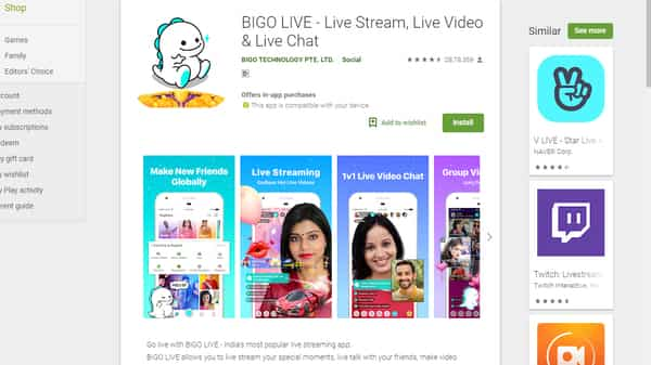 Image result for Bigo Live india