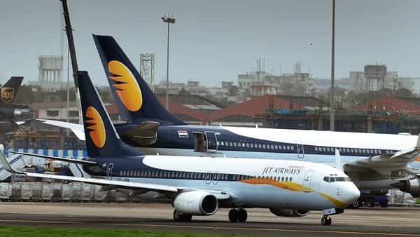 Jet Airways had a gross debt of  ₹8,411 crore as of end-September including aircraft debt of  ₹1,851 crore. (Abhijit Bhatlekar/Mint)