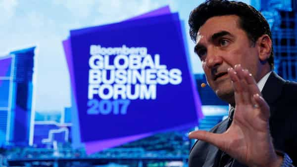 Saudi PIF CEO Yasir Al-Rumayyan. (Bloomberg)