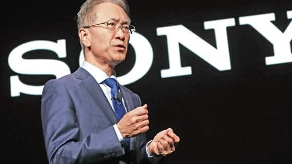 Kenichiro Yoshida, chief executive officer of Sony Corp. (Bloomberg)