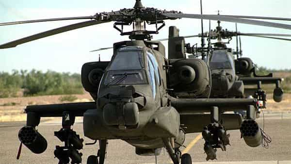 The Indian govt had placed an order for 22 AH- 64 E Apache helicopters as a part of a $1.4 billion deal that was signed in September 2015
