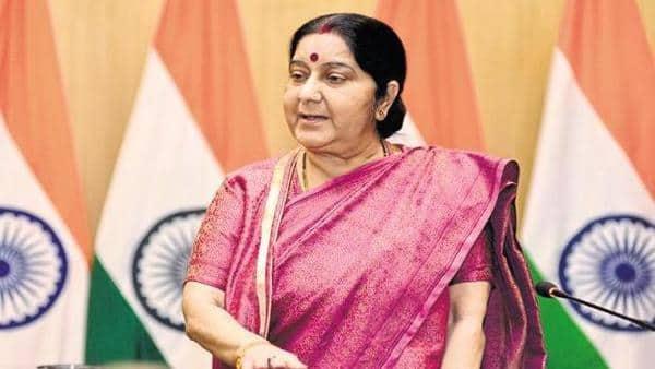 Foreign minister Sushma Swaraj (Mint)