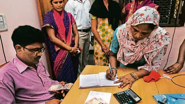 Study shows that microfinance leads to over-indebtedness, especially in the rural areas. (Photo: Mint)