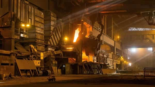 A picture taken on 20 February, 2019 shows ArcelorMittal steel company in Ghent  (AFP)
