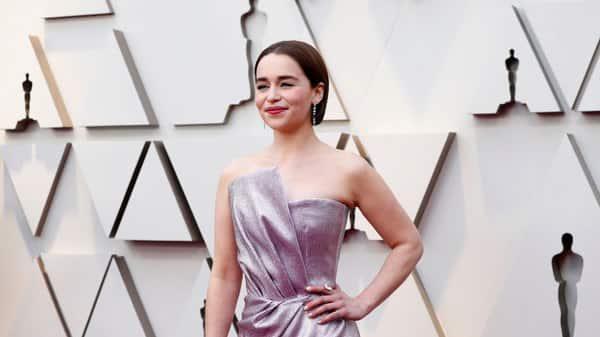British actress Emilia Clarke from