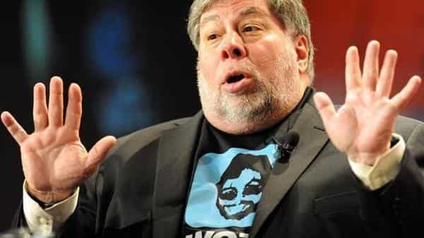 Apple co-founder Steve Wozniak. (AFP)