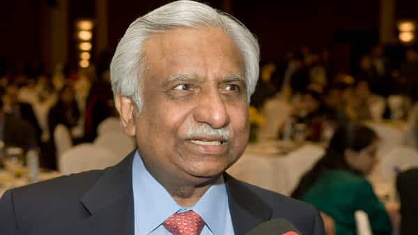 A file photo of Jet Airways founder Naresh Goyal