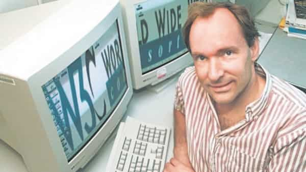 Tim Berners-Lee invented the World Wide Web at CERN on 12 March 1989. (AP)
