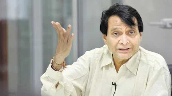 Commerce and Industry Minister Suresh Prabhu (Photo: HT)