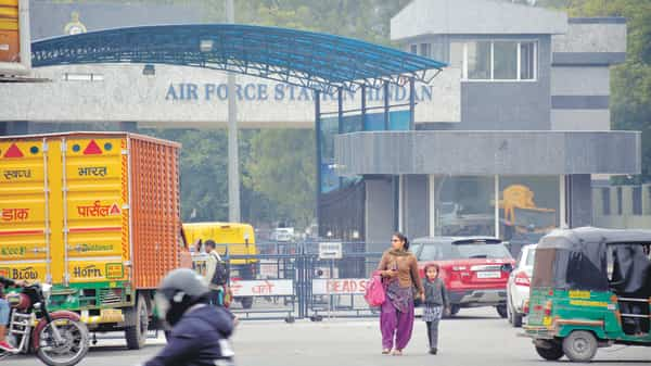 A 'civil enclave' has been built at Ghaziabad's Hindon airport, which is an air force station jointly owned by the Indian Air Force and Airports Authority of India.