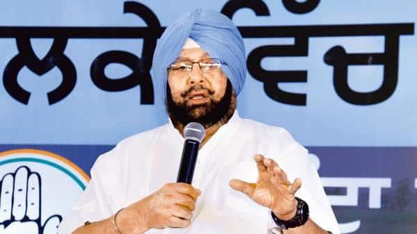 Punjab CM Amarinder Singh.