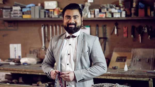 Ankit Saboo turned his hobby of collecting bow ties into a business idea.