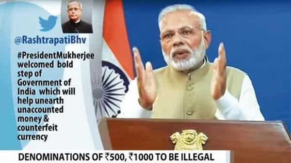 Prime Minister Narendra Modi had announced demonetisation on 8 November 2016, with the aim to curb black money, check counterfeit currency and stop terror finance.