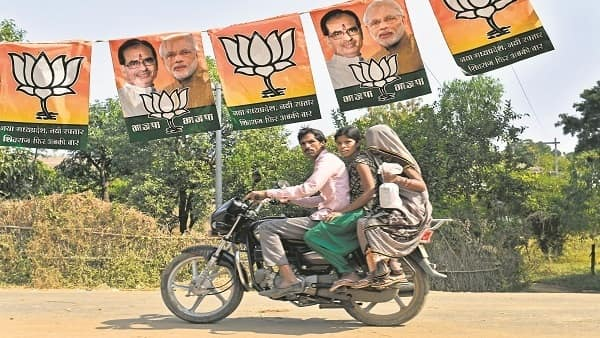Government welfare schemes will be the main talking points of the BJP election campaign. (Mint)