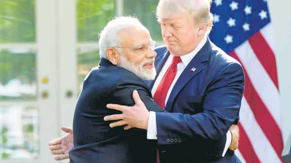 Prime Minister Narendra Modi and US President Donald Trump. As the Chinese have shown, quiet diplomatic engagement might be the best way forward for India. (AP)