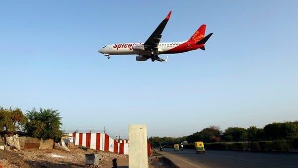 A SpiceJet Boeing 737-800 passenger aircraft.  (Reuters)