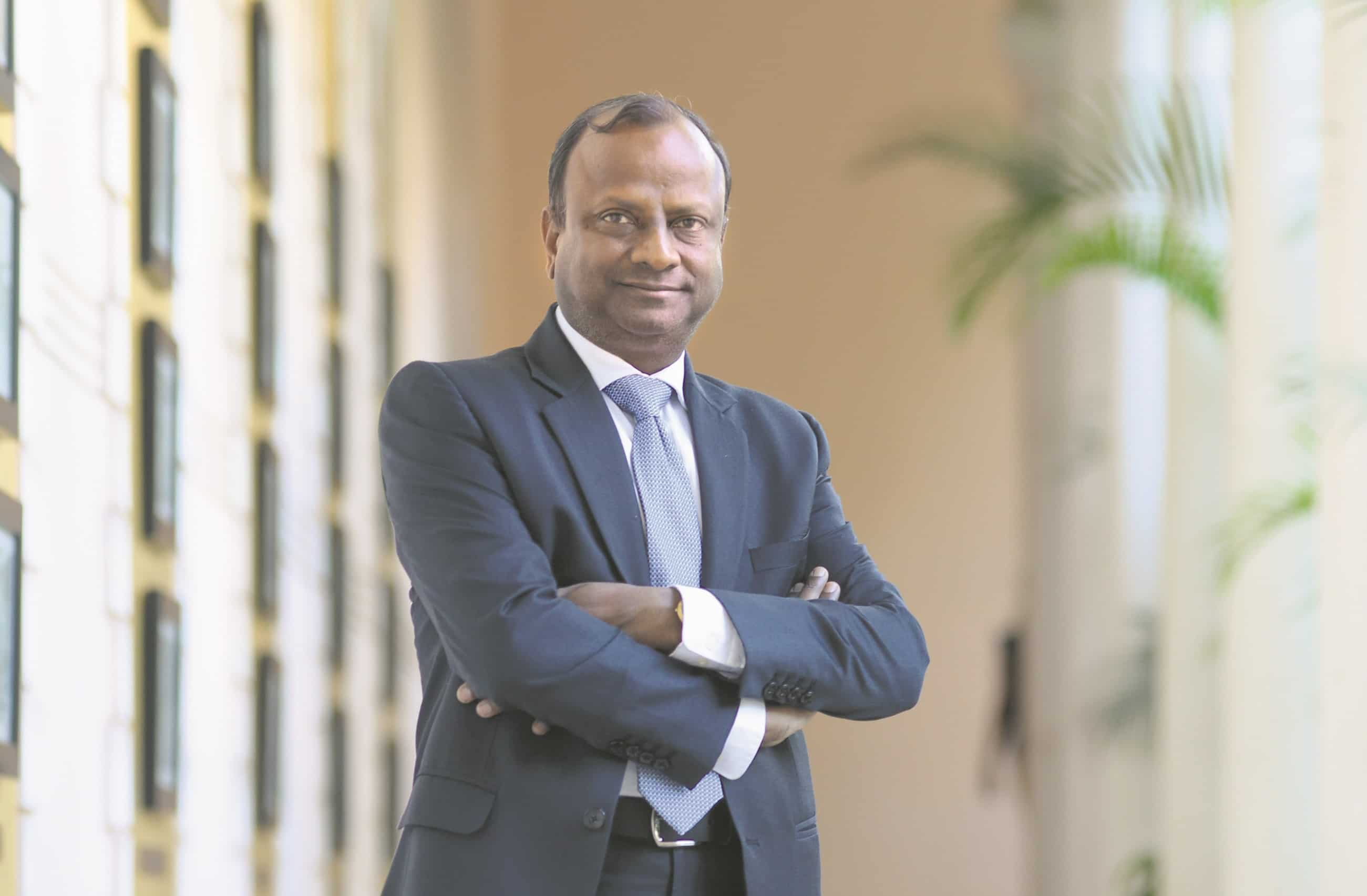 A file photo of Rajnish Kumar, chairman, SBI