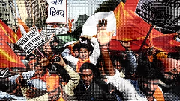 We forget that patriotism has always been a messy business with no fastest route to optimum 'deshbhakti'. Photo: Reuters
