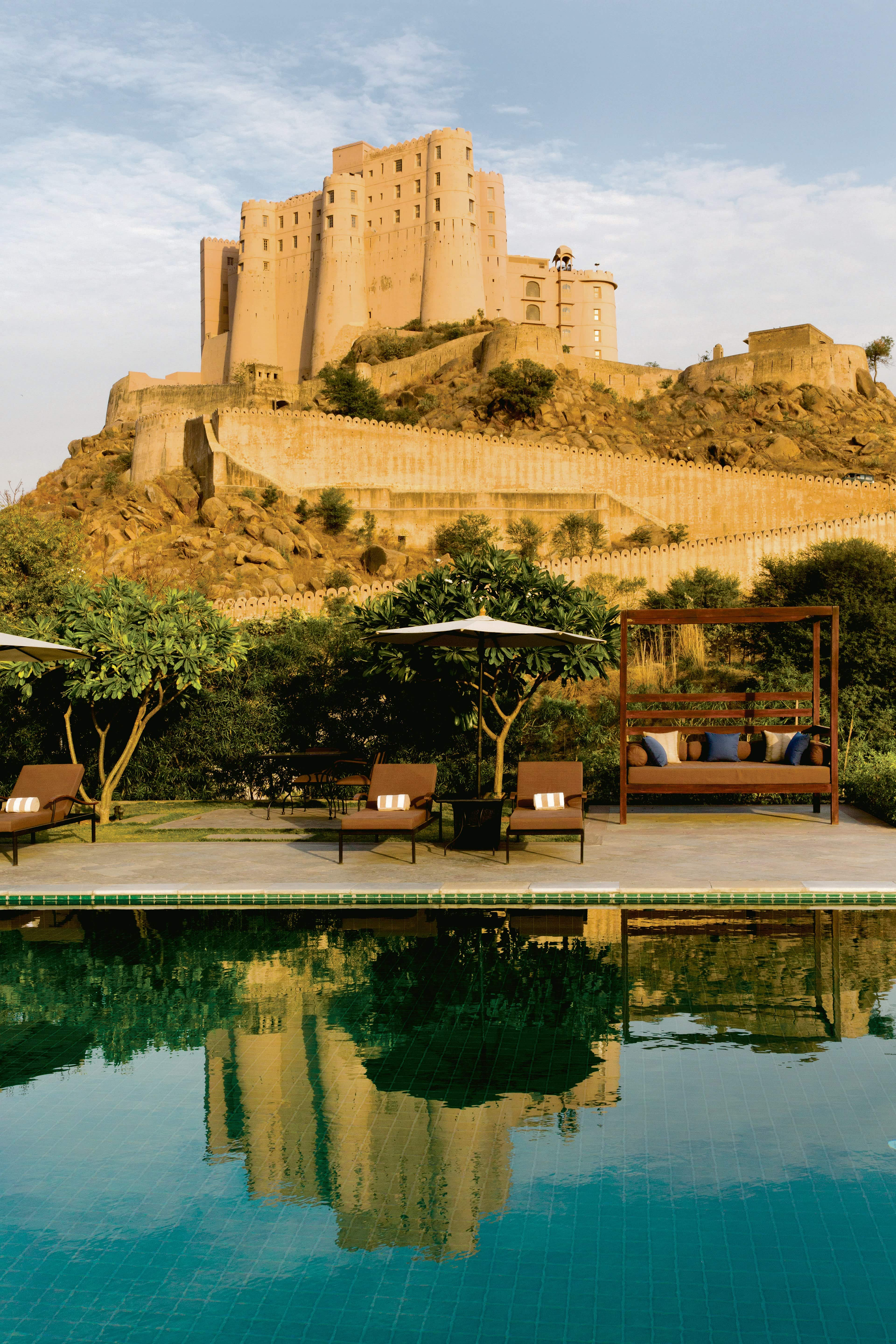 The Alila Fort Bishangarh in Rajasthan