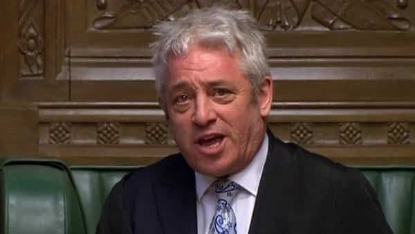 Speaker of the House of Commons John Bercow.  (AFP )