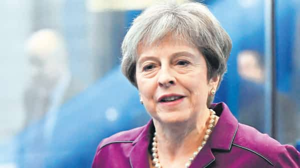 A file photo of British Prime Minister Theresa May (Reuters)