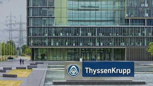 Thyssenkrupp confirmed it remains confident that the transaction, which will create Europe's second-largest steelmaker. (Bloomberg)