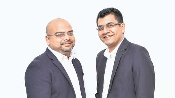 Stanza, founded by Anindya Dutta (left) and Sandeep Dalmia, offers fully furnished homes for college students.