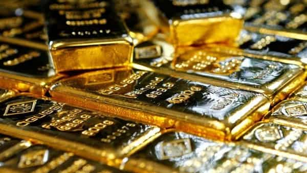 Gold bars.  (Reuters)