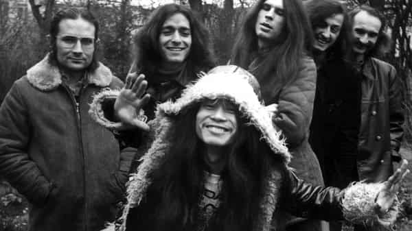 The band Can in Hamburg in 1971. (Getty Images)
