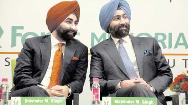 The Supreme Court had in its 14 March hearing asked the Singh brothers to submit a concrete plan for paying  ₹3,500 crore to Daiichi Sankyo as directed by a Singapore tribunal. (HT)