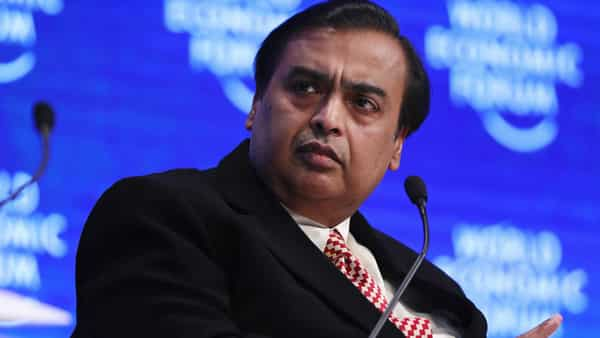 Mukesh Ambani outlined his plan to shareholders in July, saying the effort will involve the group's unlisted businesses Reliance Retail Ltd. and Reliance Jio Infocomm Ltd. (Bloomberg)