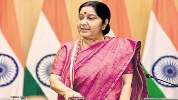 A file photo of external affairs minister Sushma Swaraj. Photo: Mint