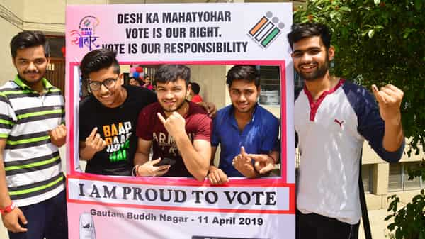 Lok Sabha elections 2019: Voters turn out in large numbers to elect