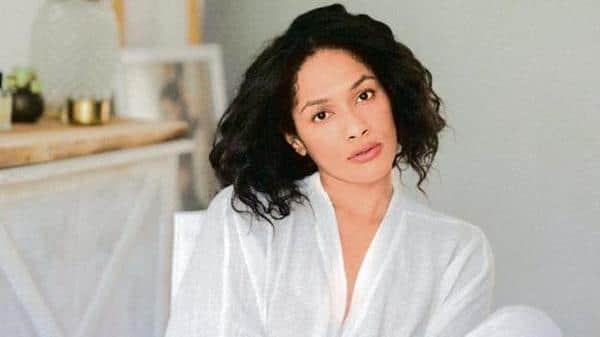 Masaba Gupta; a campaign image from Gupta's collaboration with Ekaya