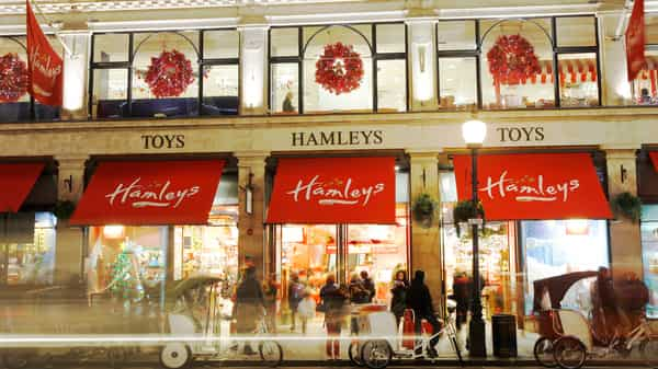 Hamleys was delisted from the LSE in 2003 and sold for $78.4 million to France's Groupe Ludendo in 2012. (Reuters)