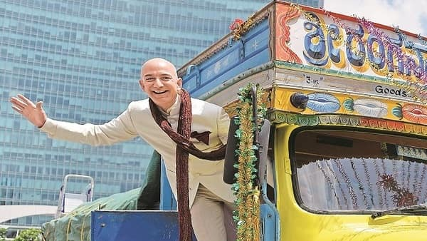 Jeff Bezos, chief executive of Amazon.com Inc. India in Amazon's largest market outside of the US. (Mint)