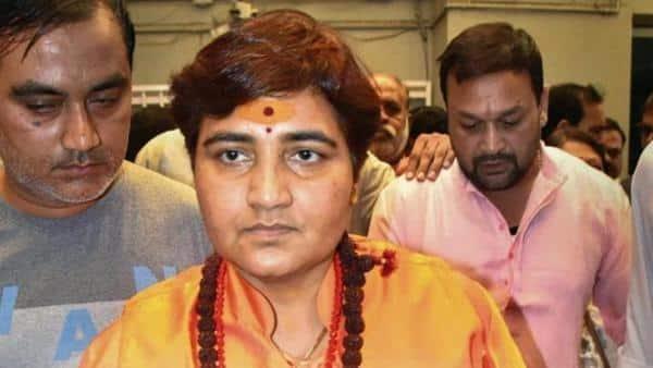 Sadhvi Pragya Singh Thakur.