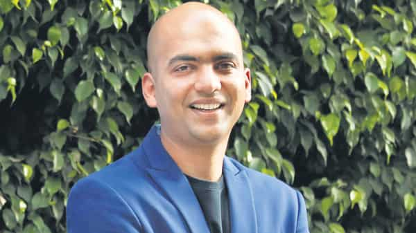 We are targeting that 50% of our business will come from offline channels by the end of this year which is pretty massive for us, says Xiaomi India managing director Manu Jain. (Ramegowda Bopaiah/mint)