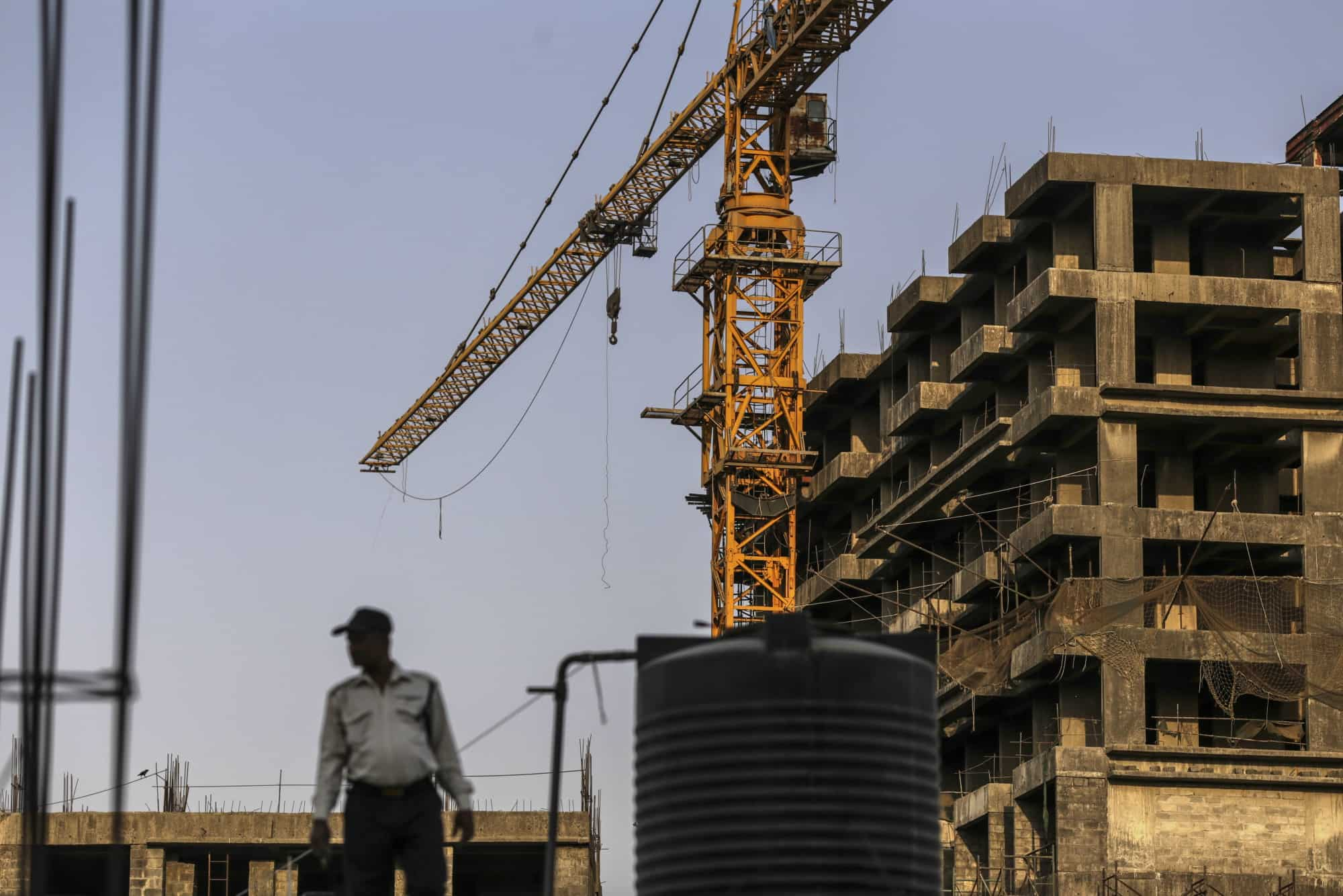 An unfinished Orbit Corp project in Mumbai (Photo: Bloomberg)