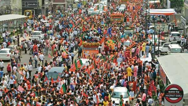 BJP had won most of the seats in the Hindi heartland states in the 2014 Lok Sabha election.