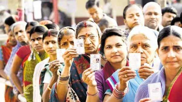 Election Commission has set up 1.40 lakh polling booths/stations for the fourth phase of Lok Sabha Elections 2019. Photo: HT