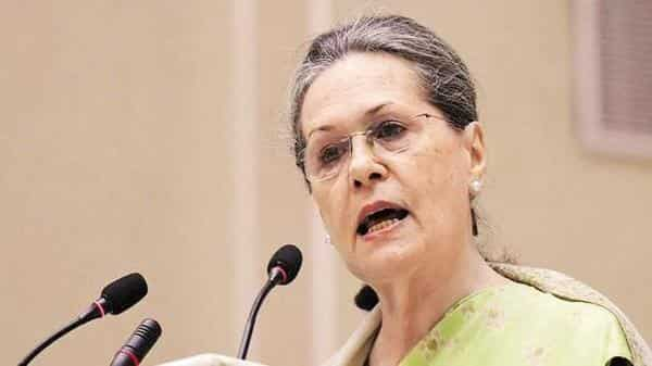 A file photo of Congress president Sonia Gandhi.  (Photo: PTI)