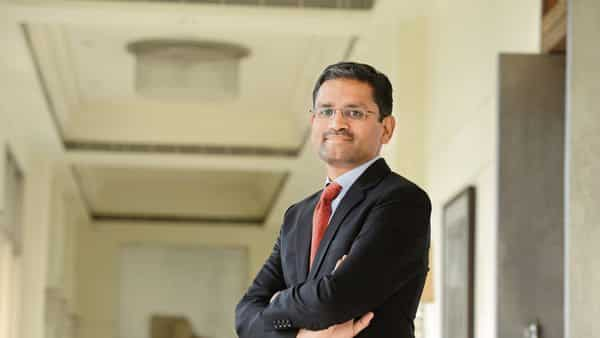 Rajesh Gopinathan, chief executive officer of Tata Consultancy Services. He took over the post in 2017.