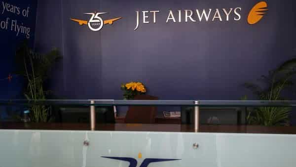 An empty front desk is seen inside the Jet Airways headquarters in Mumbai.  (Reuters )